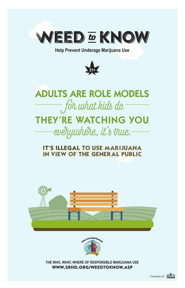 Anti-Marijuana Poster #1