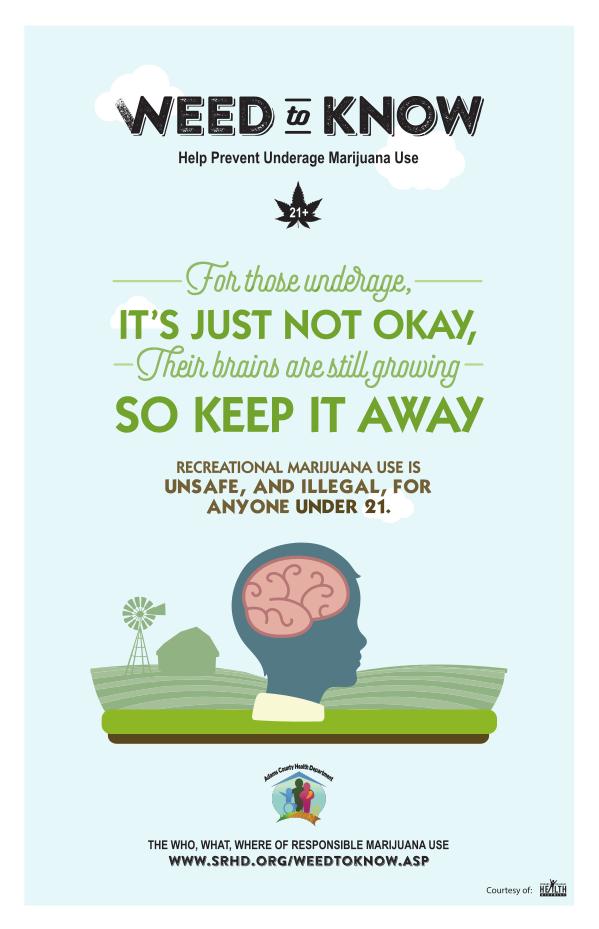 Anti-Marijuana Poster #2