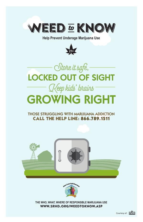 Anti-Marijuana Poster #3