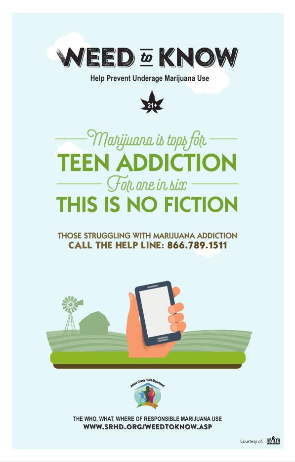 Anti-Marijuana Poster #4